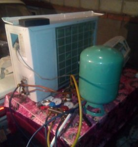 Сервис, монтаж и ремонт сплит систем