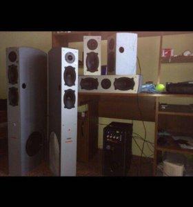 Продам акустику BBK 5:1