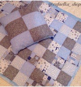 Лоскутное одеяло для малыша