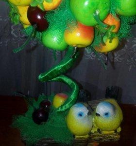Фруктовое дерево-топиарий