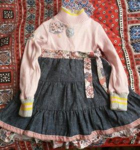 платье детское  полутеплое