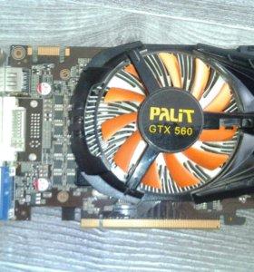 Видеокарта Nvidia Palit GTX 560