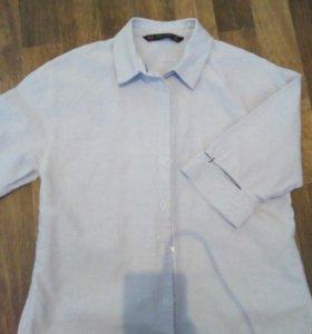Рубашка zаrа женская,укороченная