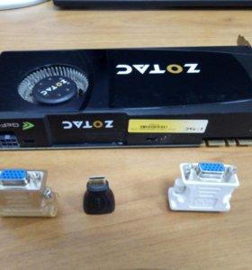 Видеокарта ZOTAC GF GTX 470 1280 mb 320 bit DDR5
