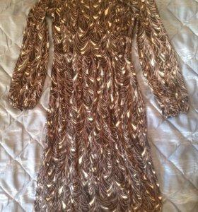 Платье шёлк Benneton