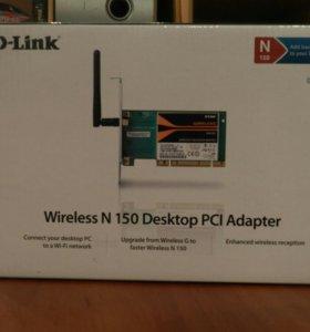 D-Link Wireless N 150 Desktop PCI Adapter