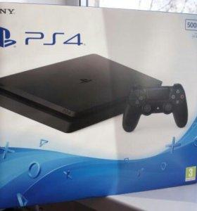 Новая Sony PlayStation 4 Slim 500 гб