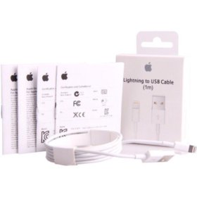 Зарядный кабель USB Lightning для iPhone