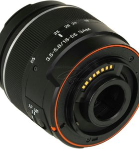 Новый объектив Sony DT18-55mm f/3.5-5.6 SAM