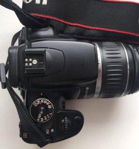 canon 400D с оригинальным объективом