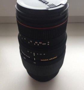 объектив sigma AF 70-300mm f/4-5.6