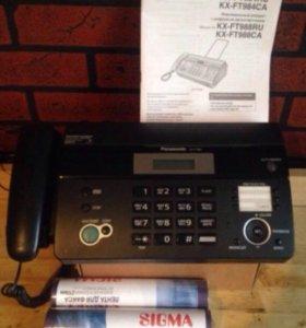 Домашний телефон (факс)