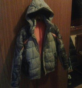 Куртка зимняя с ботинками Adidas