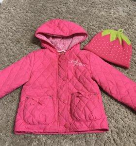 Куртка BabyGo + подарок
