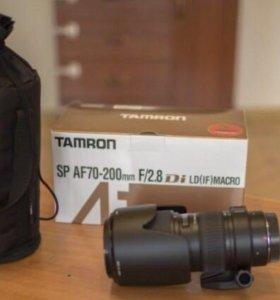Объектив Tamron af 70-200 f/2.8 ld(if) macro