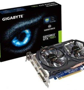 Видеокарта GeForce GTX 750 Ti