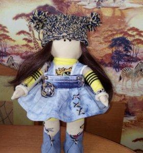 Текстильная куколка .