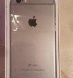 Айфон 6 черный на 16g