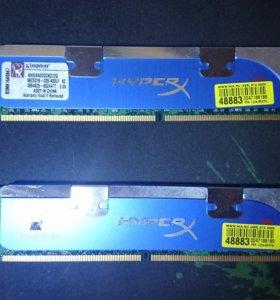 Оперативная память DDR2 hyper X. 2GB. 800мгц