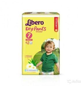 Трусики-подгузники Libero Dry Pants 7 (16-26 кг)