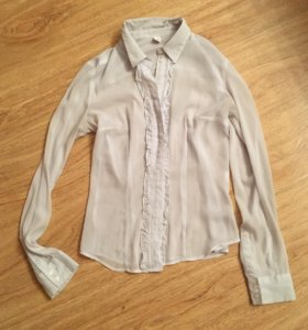Полупрозрачная блуза zolla