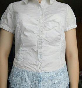 Рубашка(блузка) с коротким рукавом