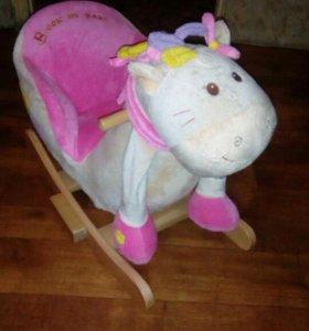 Детская лошадка каталка