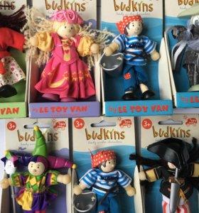 Куклы Budkins, Le Toy Van в ассорт