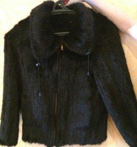 Вязанная норка(курточка)