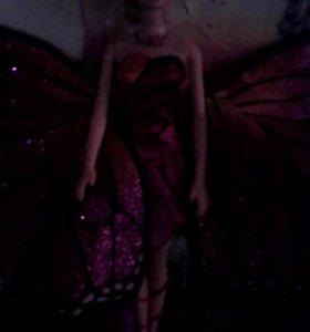 Продаётся кукла Барби с крыльями бабочки