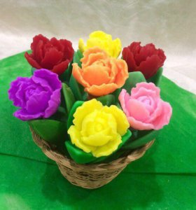 Мыло тюльпан
