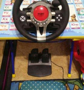 Игровой руль SVEN turbo