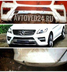 Mercedes-Benz ML 350 AMG 2014 передний бампер