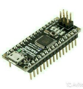 Контроллер Arduino Nano V3.0 (Atmega 328) новый