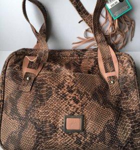 Новая кожаная сумка Velez