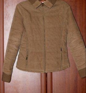 Куртка. Вельветовая, на синтепоне, 46 размер
