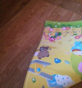 Детский резиновый коврик