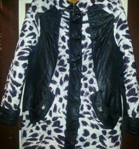 Удлиненная куртка-пальто