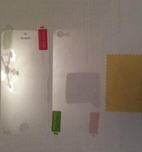 Плёнки на айфон 5