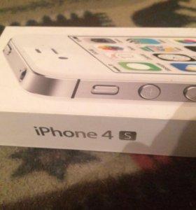 Оригенальная коробка от iPhone 4s,8гб