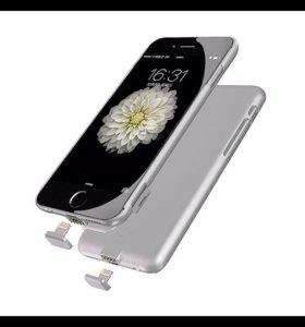 Чехол батарейка на iPhone 6/6s/7