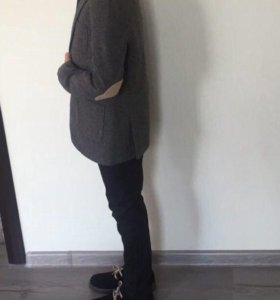 Пиджак ZARA и ботинки Fendi