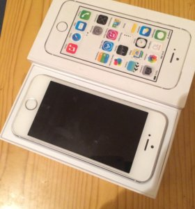 iPhone 5s 16g silver