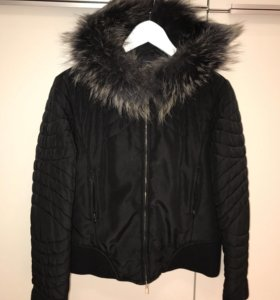 Куртка с мехом Giorgia P.