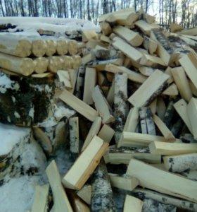 Дрова берёзовые, дубовые, колотые