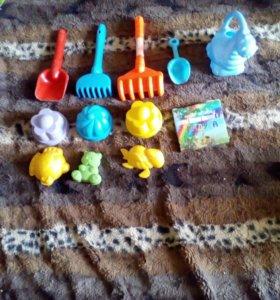 Игрушки для песочницы.