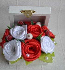 Шкатулочка с розами