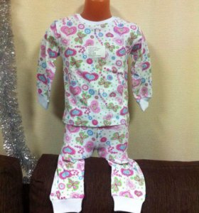Пижама детская с длинным рукавом
