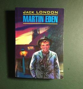 "Книга на английском языке ""Мартин Иден"""