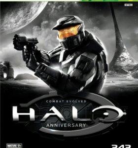 Halo Anniversary xbox 360 (лицензия)